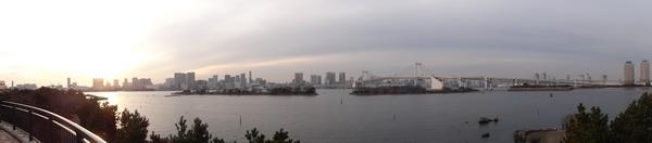 Vista de Odaiba, Tóquio