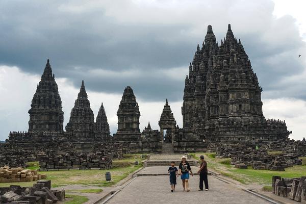 Templo Prambanan, Jogjakarta, Indonésia